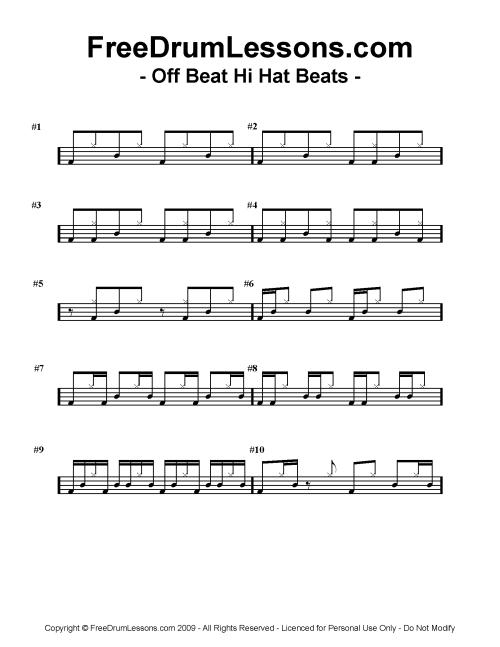19-off-beat-hi-hat-beats